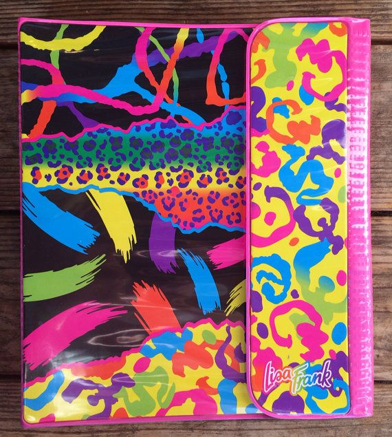 Lisa Frank vintage trapper keeper binder on Etsy, $255.00