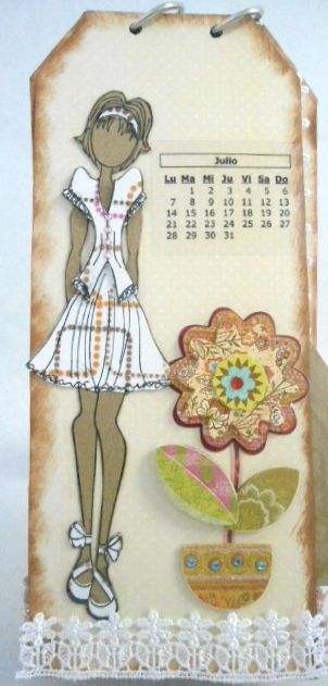calendar idea... make one dressed in theme for each month.