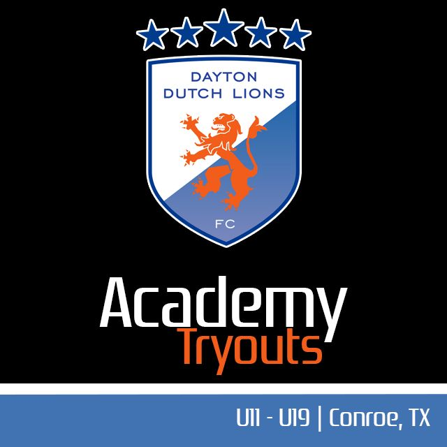 Dayton Dutch Lions FC Academy Tryouts 2016