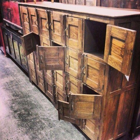 #Indian #antique #teak wood just arrived! www.antiquesdirect.ca. Vintage  Industrial FurnitureIndian ... - 42 Best Indian Antiques & Vintage Industrial Furniture Images On