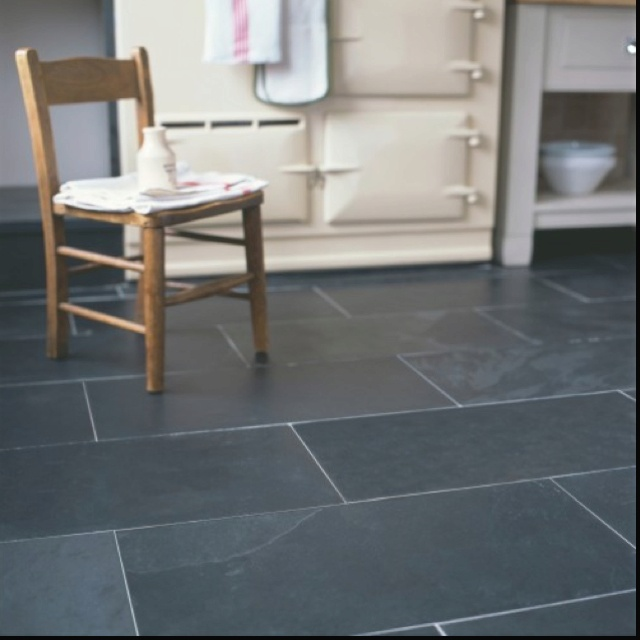 Slate Floor Kitchen