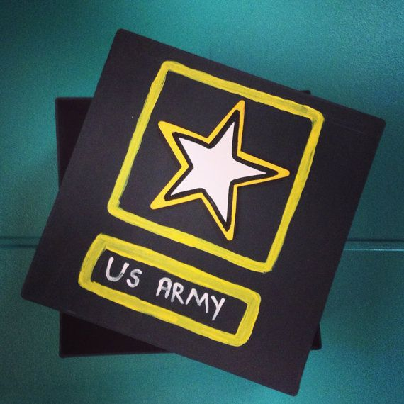 Army Letter Box by CarolsHomeCreations on Etsy