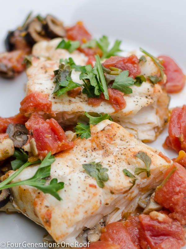 Our Easy Christmas Haddock Recipe - Four Generations One Roof. Skip the butter!
