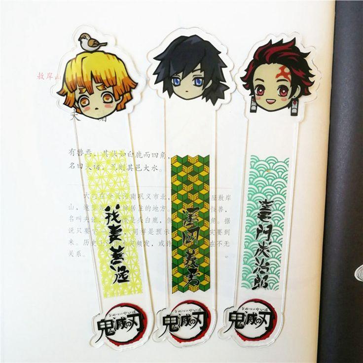 Demon slayer kimetsu no yaiba anime bookmark child student