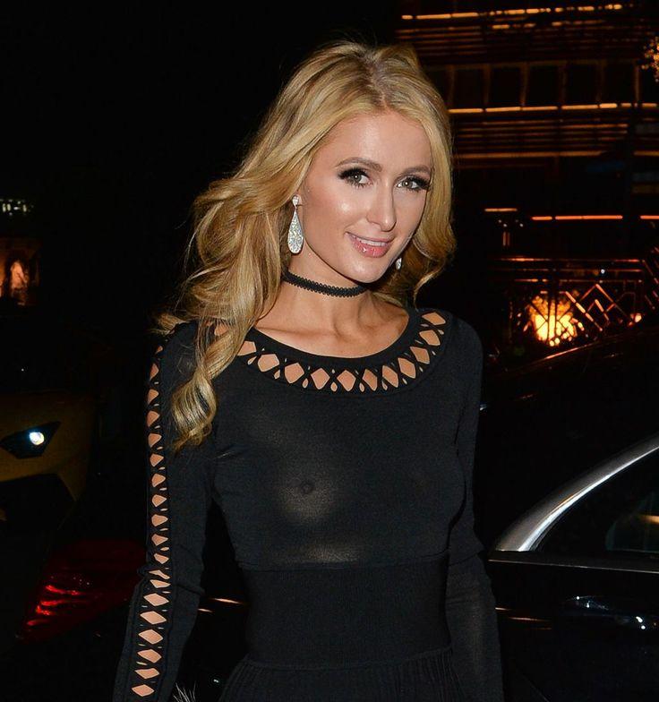 Paris Hilton le 1er mai 2016 à Londres