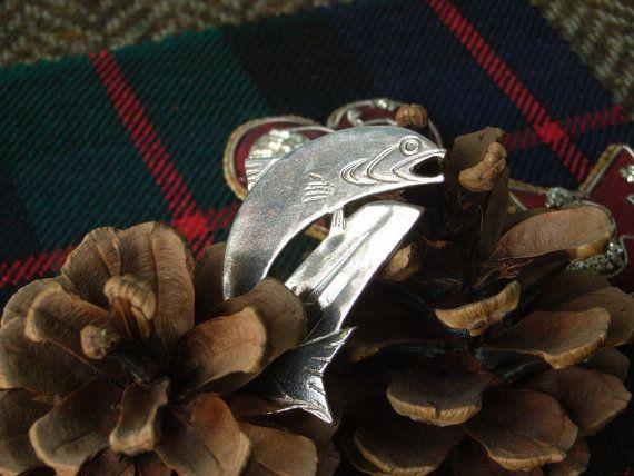 Silver Scottish Kilt Pin / Brooch   by CallumKiltsJewellery
