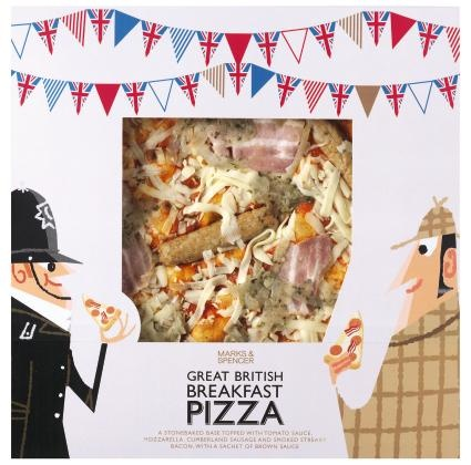 Marks and Spencer pizzas