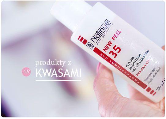 Alina Rose Makeup Blog: Top produkty z kwasami. Kremy, żele, toniki, najlepsze do użytku w domu.