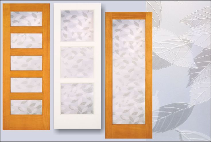 Interior Doors With Leaf Design In The Glass. Used For Privacy Interior  Doors. Http