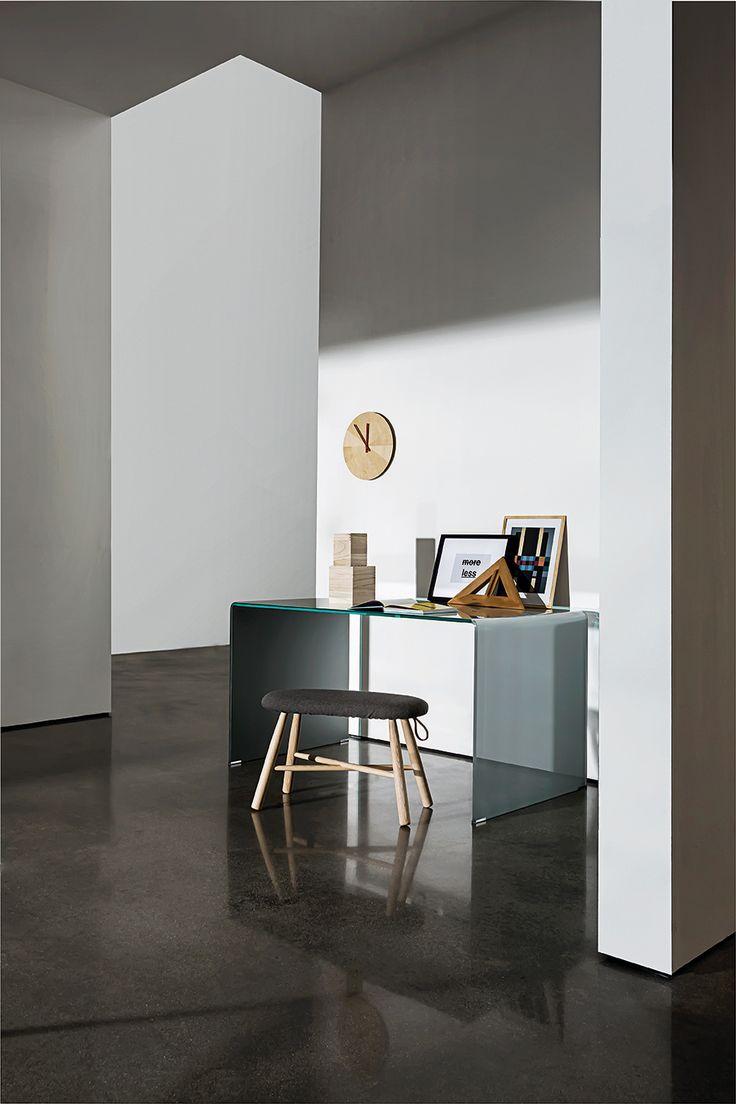 Bridge Order #table  a multifunctional solution for the #interiors. #Design #sovetitalia #furniture #glass