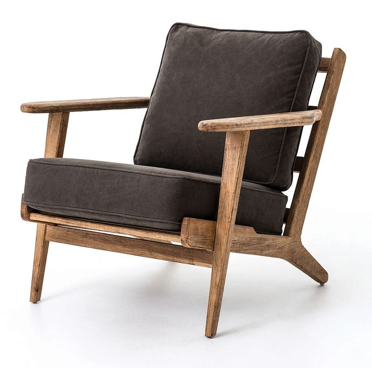 mid century modern wood and leather chair chairs cheap danish furniture los angeles armchair