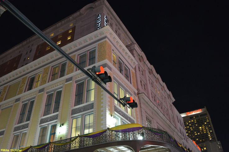 Astor Hotel on Bourbon Street.