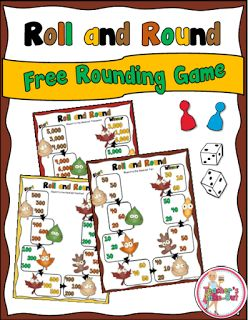 Classroom Tested Resources: Free Autumn Rounding Game