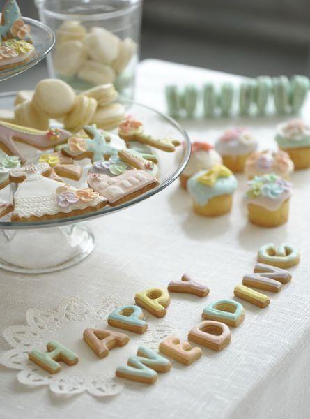 ウエディング ウエルカムスイーツの画像:「かわいいお菓子 micarina 」atelier diary