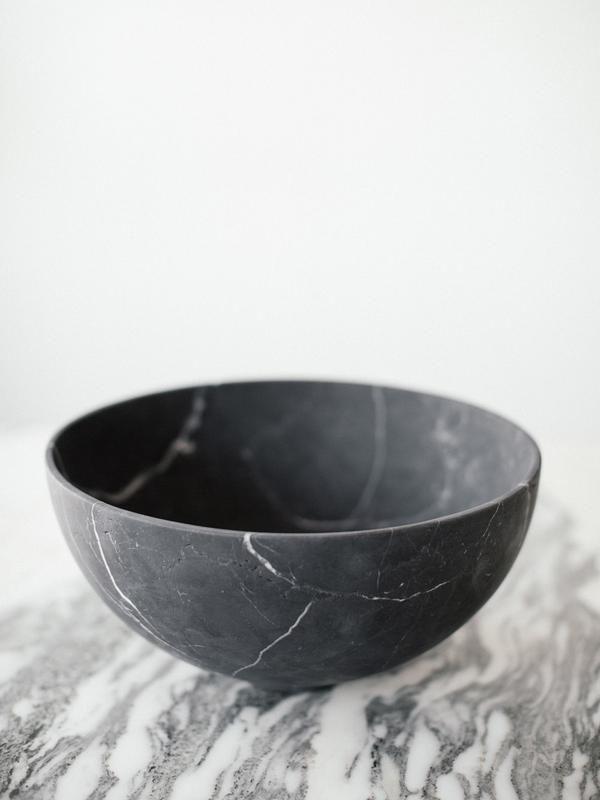 Cdmx Casa Mineral Grande Bowl In Black Marble By Cdmx Casa Mineral On Made Trade Black Marble Bowl Fair Trade Rugs