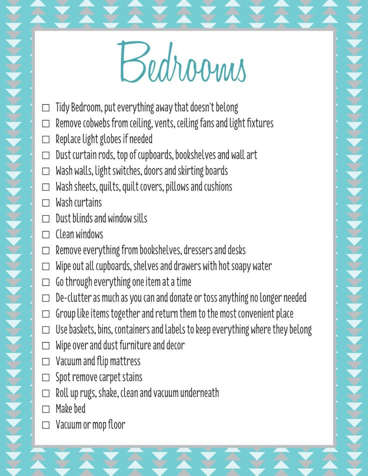 26 best Spring Cleaning Checklist images on Pinterest Homes - sample spring cleaning checklist