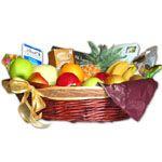 Brimming Fruit Basket With Extras To Uganda