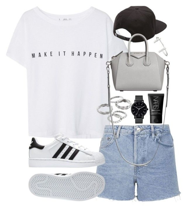 U0026quot;Outfit for summer with Adidas sneakersu0026quot; by ferned on Polyvore featuring MANGO Topshop Apt. 9 ...