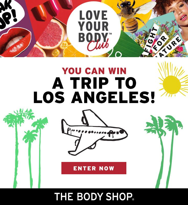 I just entered The Body Shop #DARETOMAKS Sweeps! Enter and you could win a daily prize or a trip to Los Angeles! Check it out now. Ends Sept 18, 2017