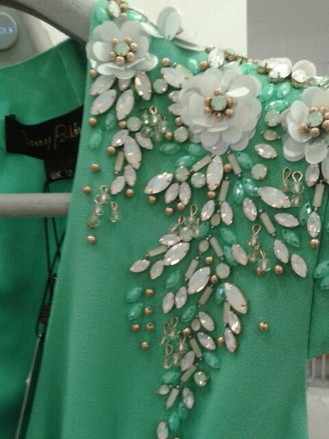 Embellishment...Wow, another embellishment to think about. Ask your dressmaker for suggestions.
