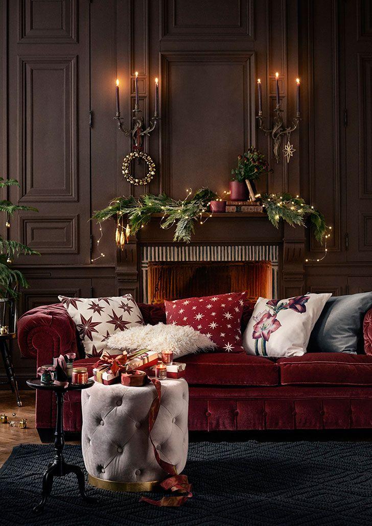 Праздники уже близко! Рождественская коллекция HM Home   Пуфик - блог о дизайне интерьера