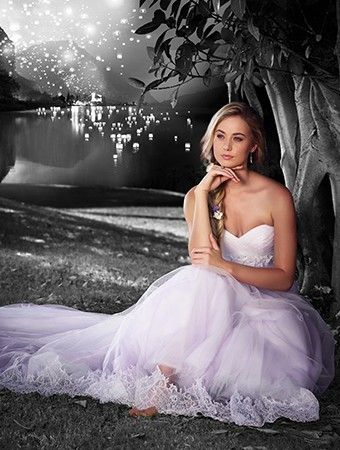 Rapunzel - Trouw nu als Disney-bruid - Nieuws - Fashion