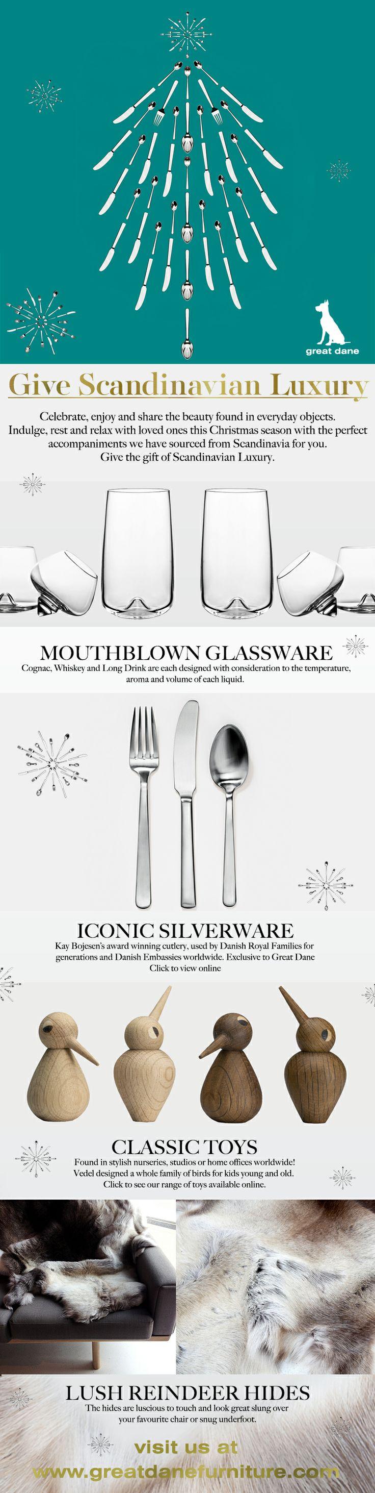 Give Scandinavian Luxury