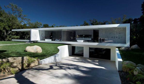 Glass Pavilion Home (Montecito, CA) Psst, it's for sale.