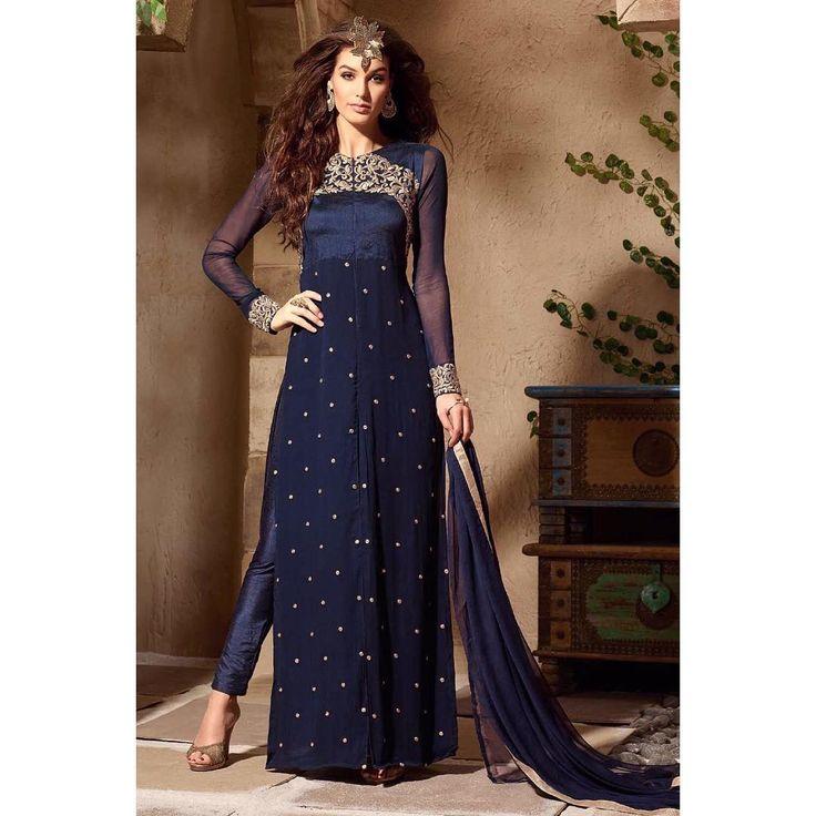 🔴PRODUCT:- Blue Color Floor Length Cut Style Suit 🔴pcode : 115a758 🔴PAYMENT - COD/Bank Transfer 🔴 For PRICE & BOOK YOUR ORDE Do WHATSAPP +91-99-09-09-1413 🔴 Free Home Delivery  #mrandmrsbrand #traditional #indianwear #ethnic #stylisht #rampstyle #edd #ramjan #festival #designerfashion #luxury #fashionstylist #dubaishopping #manishmalhotra #lamefashion #ramjaneid2016 #eid2016 #onlinedress #shoponline #jacketstyle #shopindiandress #pakistanidress #rampdress #lakmedress #indianlehenga…