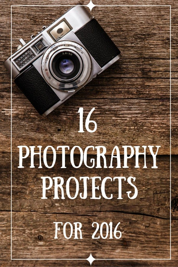 Photography Projects are a sure way to help you improve your photography. If you are looking for a Photography Project for 2016, check out my list of 16 photography projects for 2016. There is something for everyone on this list!