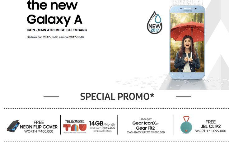 Promo Explore The New Galaxy A -Bila di segmen premium, Samsung mengandalkan Galaxy S series maka membidik kalangan menengah pabrikan ini mengandalkan Gal