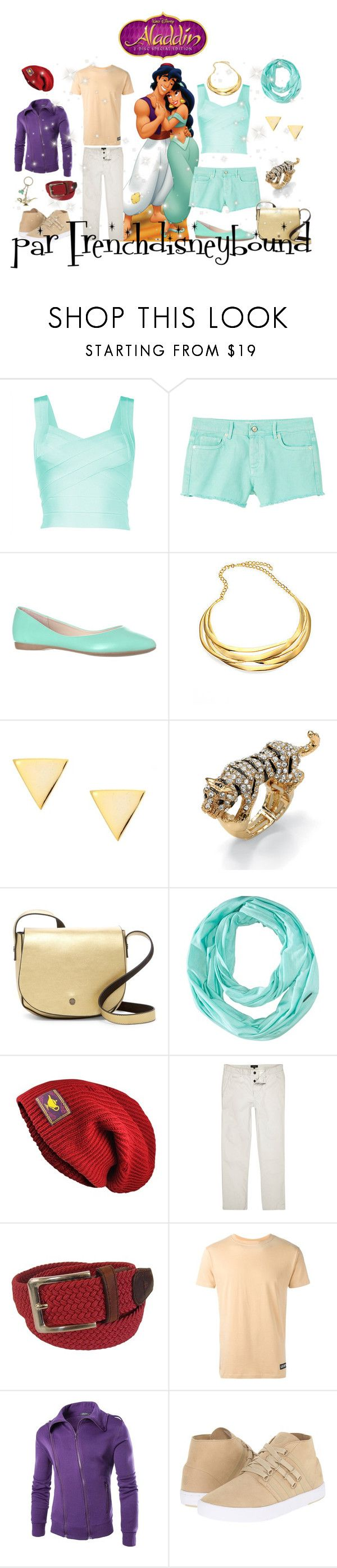 """Aladdin et Jasmine (Aladdin)"" by frenchdisneybound ❤ liked on Polyvore featuring MANGO, Kenneth Jay Lane, Dainty Edge, Palm Beach Jewelry, Deux Lux, Smartwool, River Island, Tyler & Tyler, LES (ART)ISTS and K-Swiss"