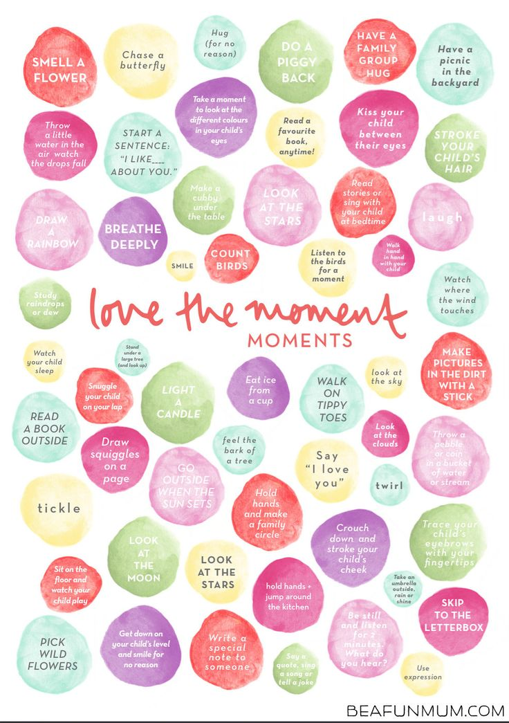 Simple ways to love the moment and connect with kids