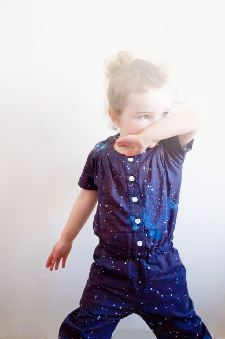 Top Knot Romper - Made by Toya