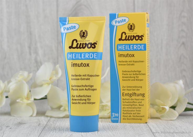 Skin-Detoxing mit Luvos Heilerde imutox Paste