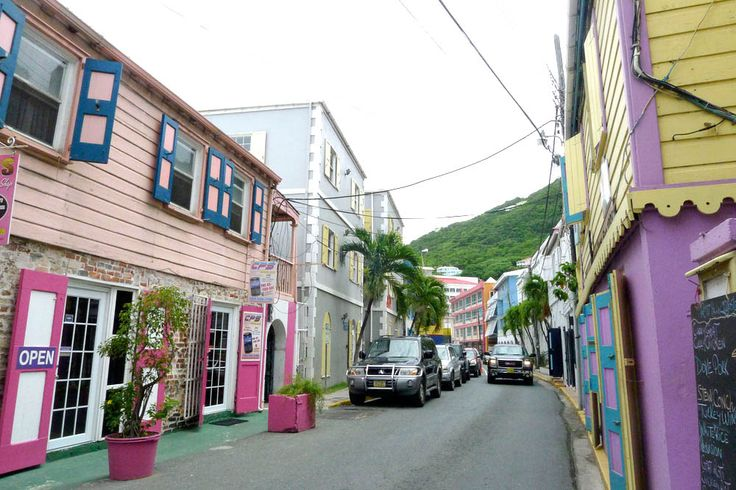 tortola british virgin islands shopping | Road Town on Tortola is the capital of the British Virgin Islands. And ...