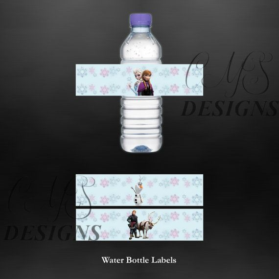 75 Best Images About Water Bottle Labels On Pinterest: 100 Best Disney Frozen Birthday Images On Pinterest