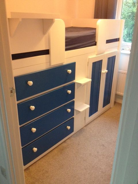 Small Box Room Cabin Bed For Grandma: 7 Best Cabin Bed Ideas Images On Pinterest