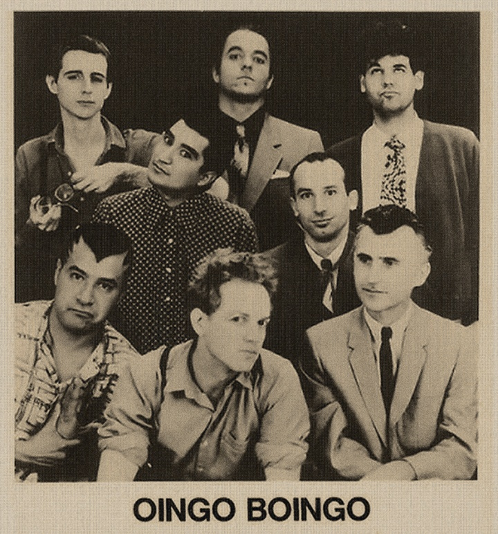 Oingo Boingo....look how far Danny Elfman has come!!!!!  Writing the soundtrack to everything, lol!!!