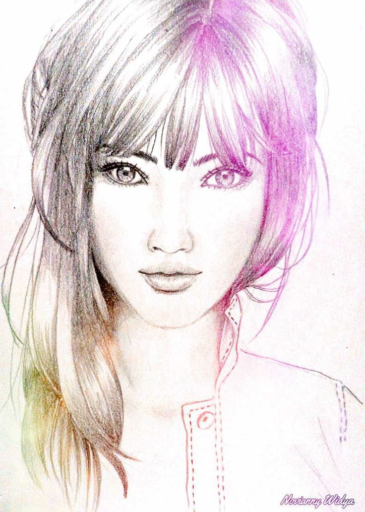 643 Best Female Sketch Images On Pinterest Drawing