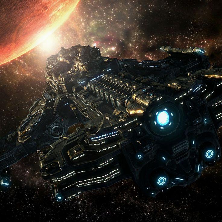 Starcraft 2- Battlecruiser