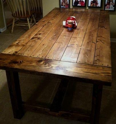 Farmhouse dining table top diy farmhouse table 90 source http farmhouse dining table top diy farmhouse table 90 source http solutioingenieria Choice Image