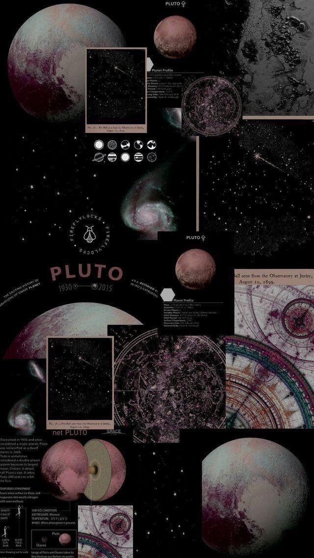 Aesthetic Wallpaper Pluto Wallpaper tumblr lockscreen