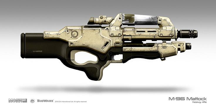 Mass Effect 3: M96 Mattock
