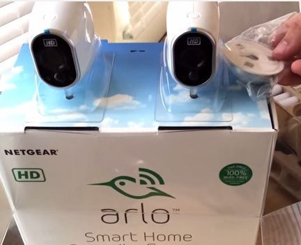 review Arlo's new wireless Security camera system is the VMS3230 NETGEAR