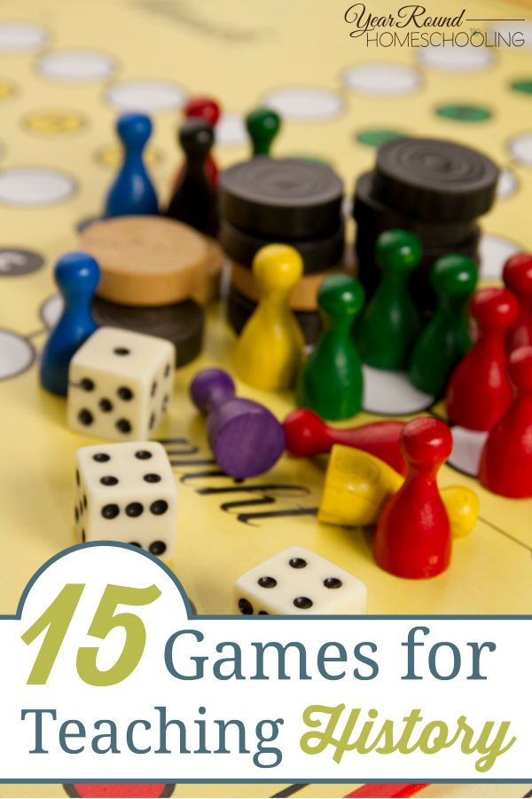 15 Games for Teaching History - Year Round Homeschooling