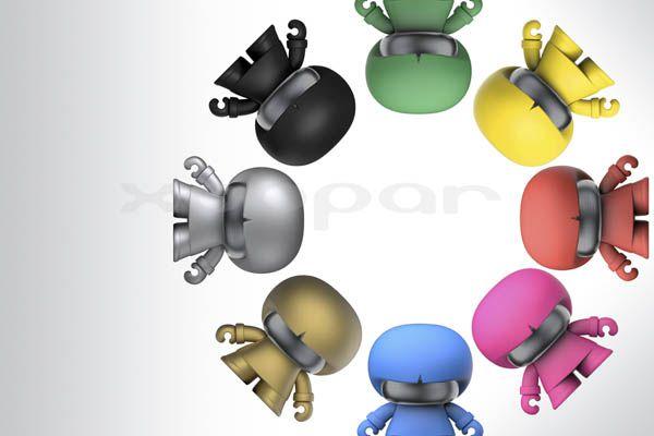49,75€ Xoopar Boy Vermelha, coluna portátil bluetooth | Smartpen, Áudio e TV, Informática, Mobile, Mainline, Domótica e Gadgets