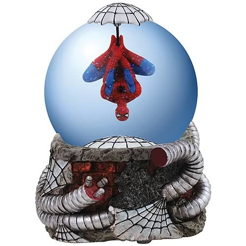spiderman snow globes | Spider-Man Water Globe - Westland Giftware - Spider-Man - Snow Globes ...