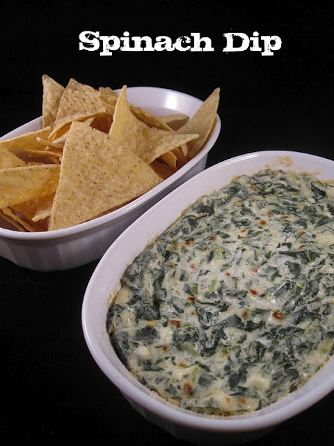 Quick and spinach dip sure to please any crowd.