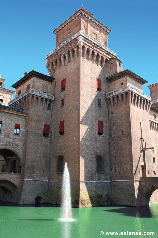 #Ferrara #castello estense, , Ferrara province, Emilia Romagna region Italy